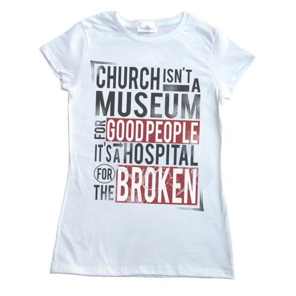 Church Isn't Girl's T-Shirt
