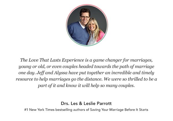 Love That Lasts Experience