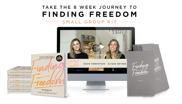 Finding Freedom Workshop Small Group Kit (5)
