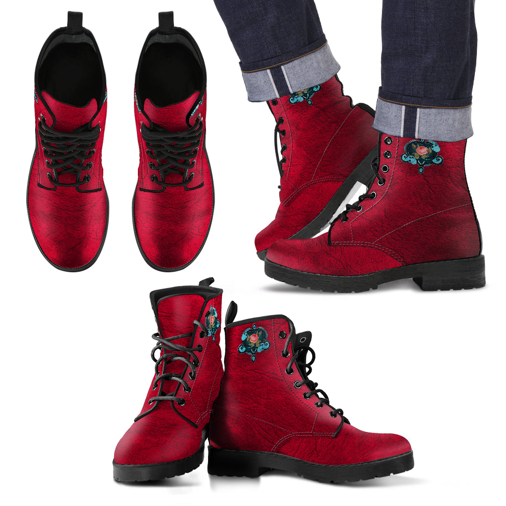 Steampunk Rose IV Boots (Men's)