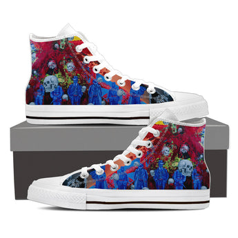Skull Series V High Tops