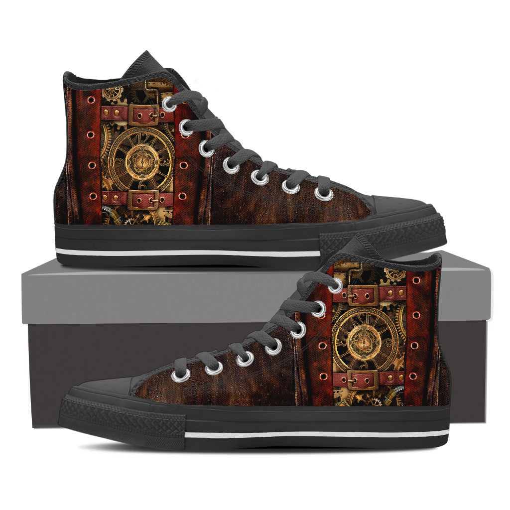 Steampunk II High Top - Hello Moa