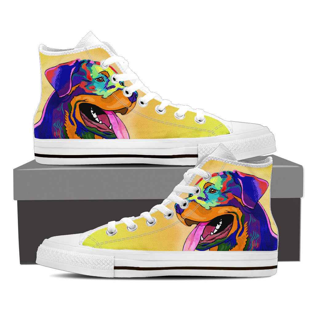 Lab Women's High Tops - Hello Moa
