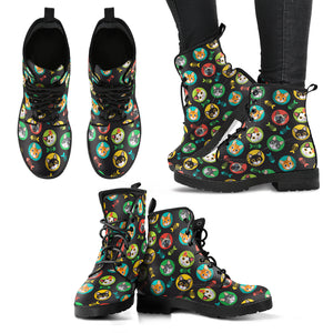 Cat & Fish Boots (Women's) - Hello Moa