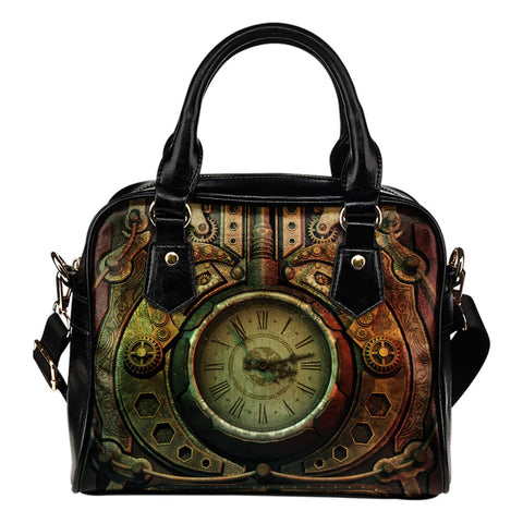 Piston Clock II Steampunk Handbag