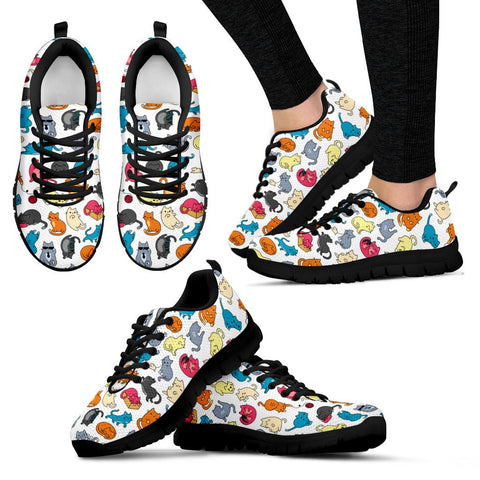 Image of Express Colorful Cats II Shoes