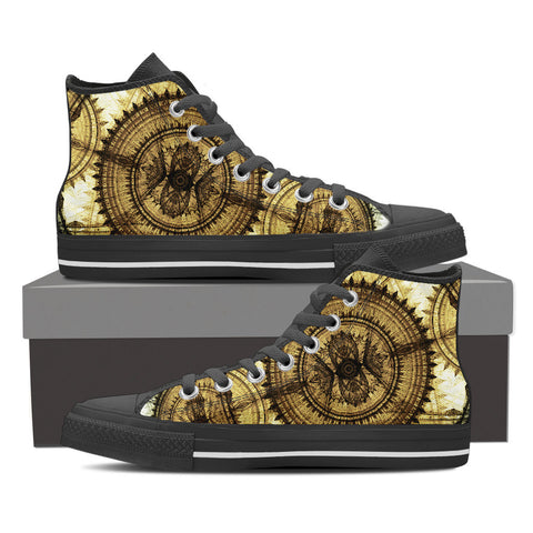 Image of Dial Steampunk High Tops