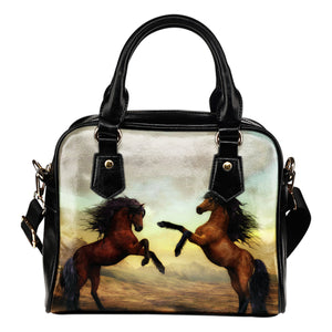 Stallion Horses Handbag - Hello Moa