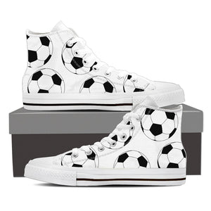 Men's Soccer Ball High Tops - Hello Moa