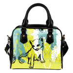 Grunge Cat II Handbag - Hello Moa