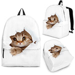 Hidden Cat Backpack - Hello Moa