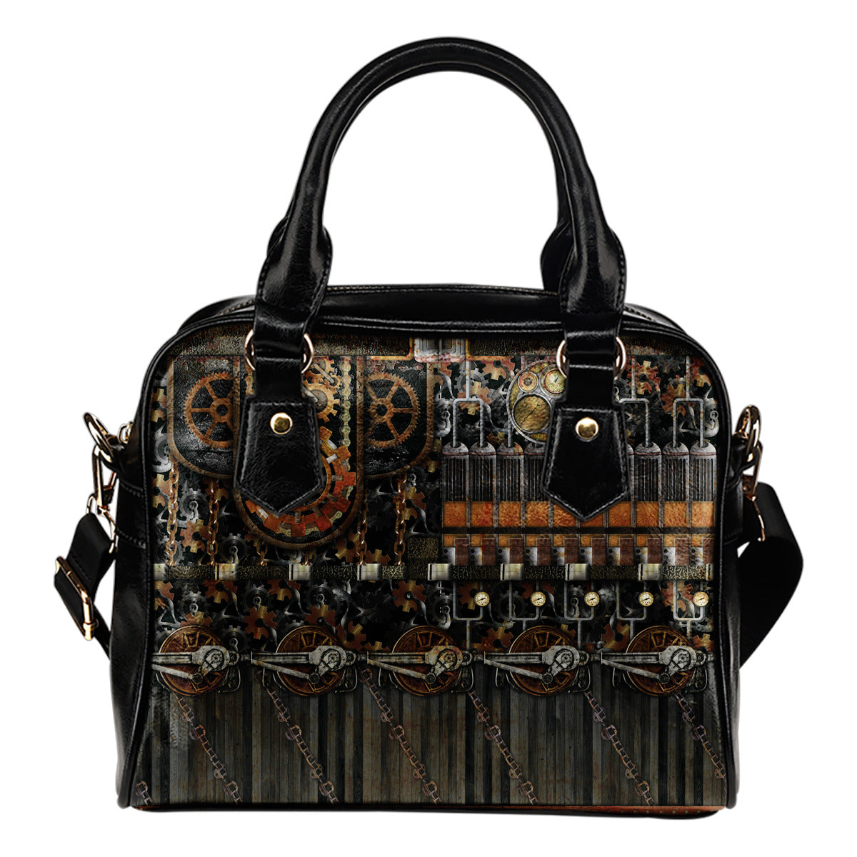 Steampunk Chain Gear Handbag - Hello Moa
