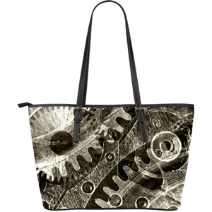 Steampunk Series I Large Tote Bags