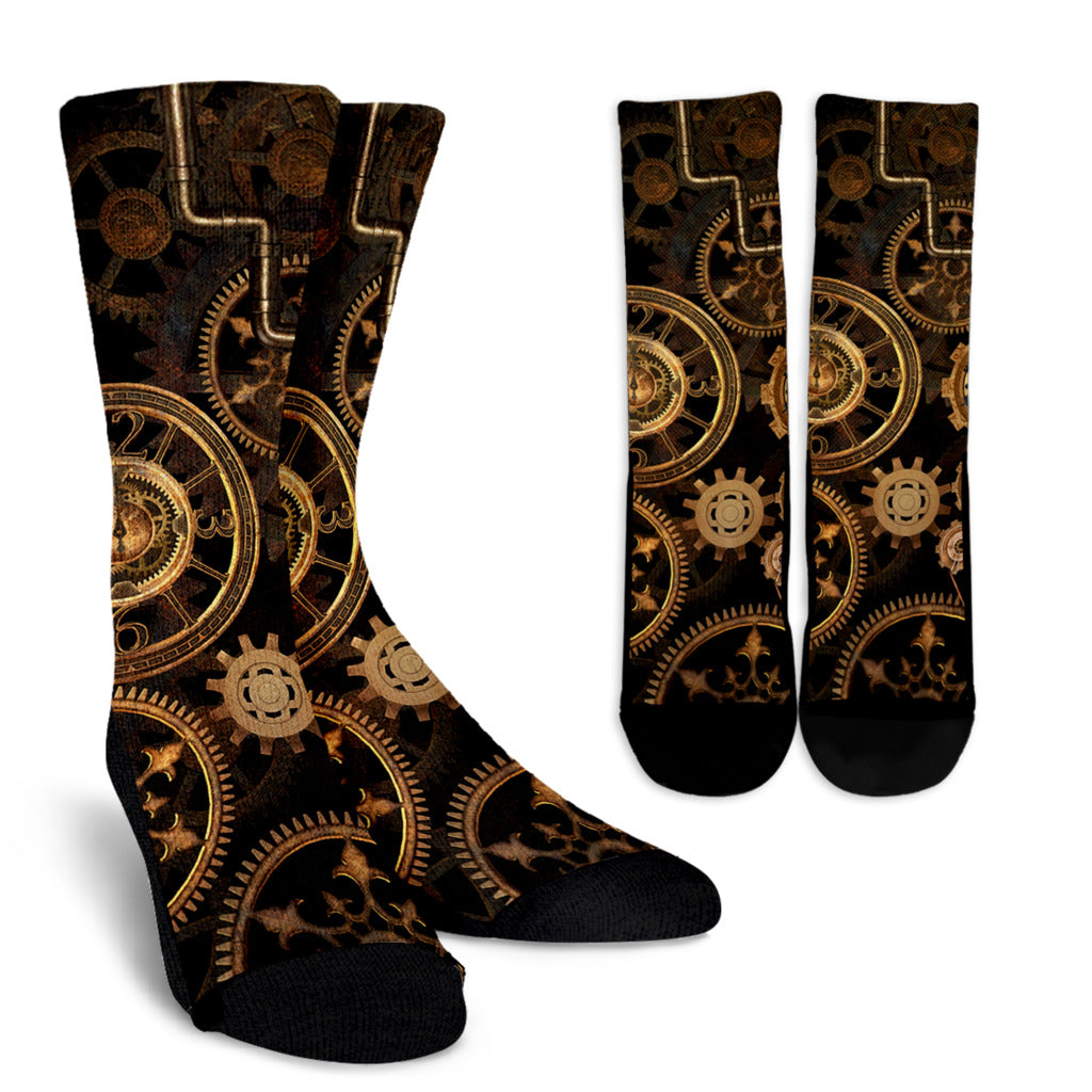 Steampunk II Socks - Hello Moa