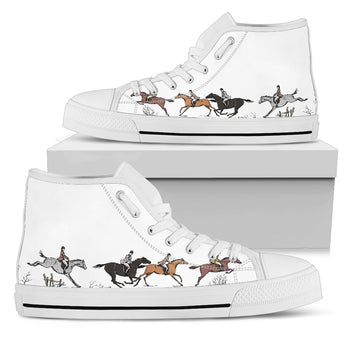 Equestrian High Top Shoes