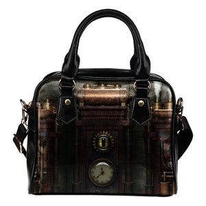 Steampunk Brass Clock Handbag - Hello Moa