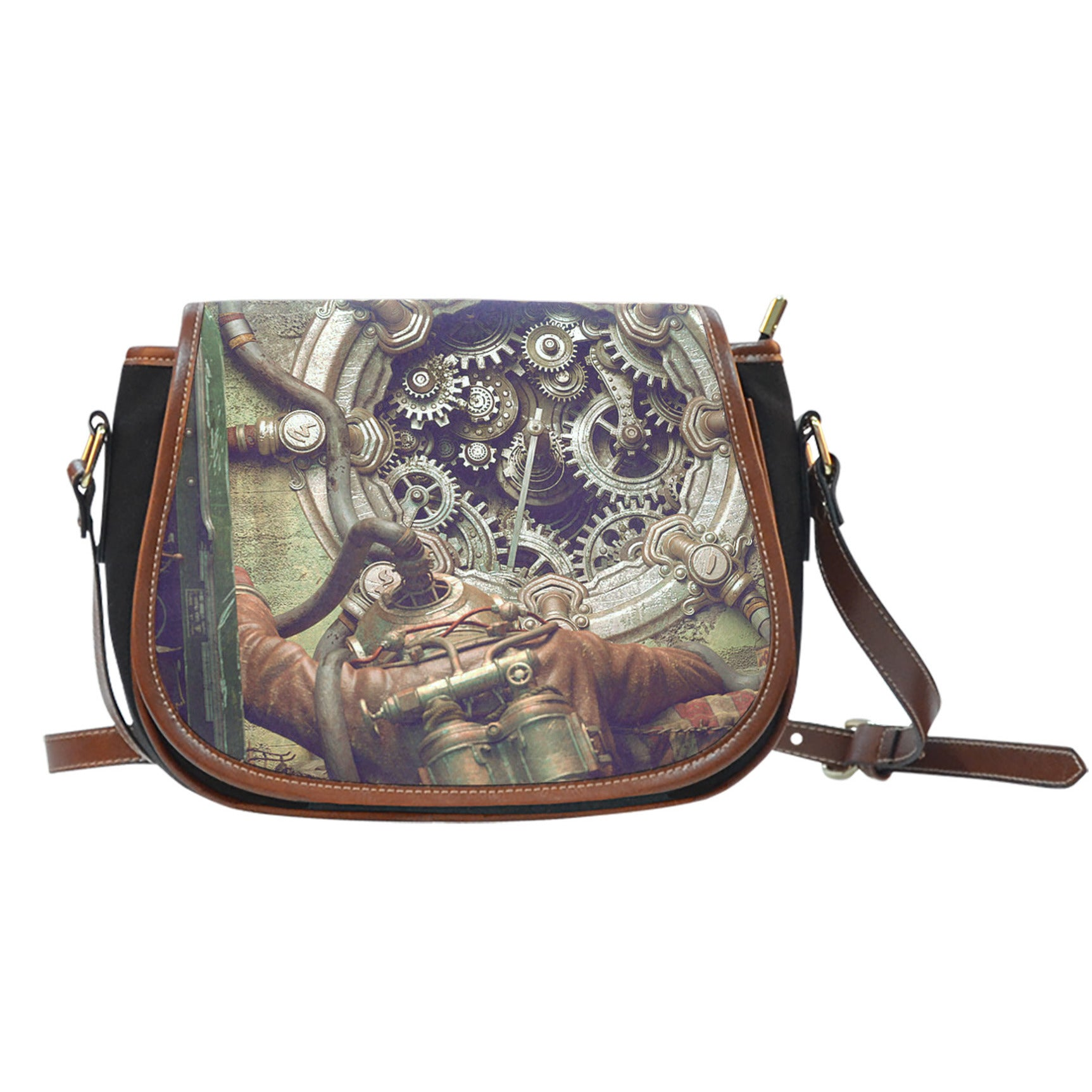 Steampunk III Saddle Bag