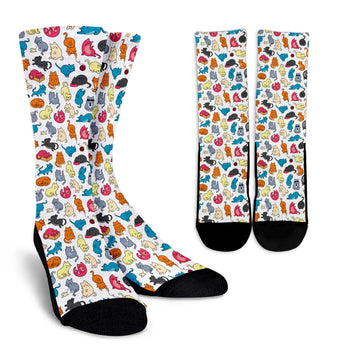 Cartoon Cat II Socks