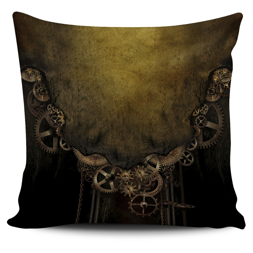 Vintage Gear Pillow Cover