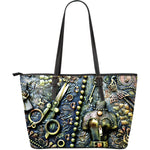 Steampunk Scissors Large Tote - Hello Moa