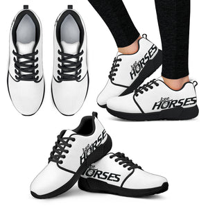 Express Love Horses Shoes White (Women's)