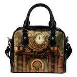 Pipe Clock Shoulder Handbag - Hello Moa