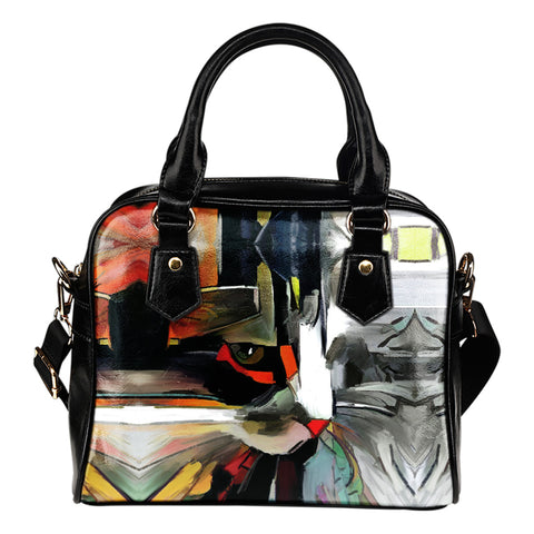 Art II Cat Shoulder Handbag