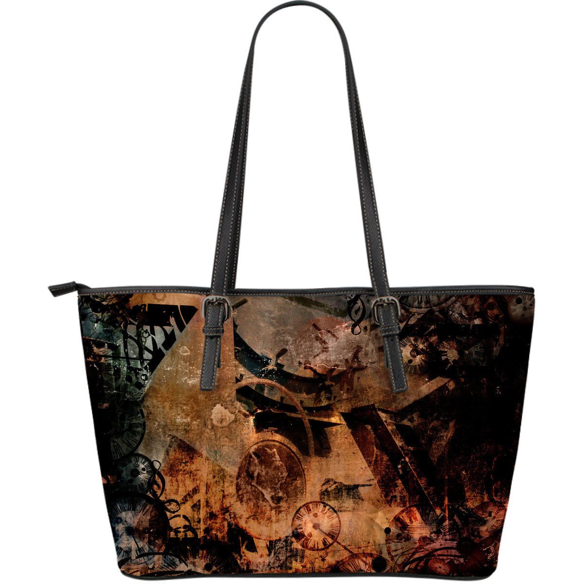 Steampunk Art Large Tote