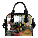Art IV Cat Shoulder Handbag