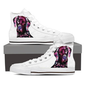 Lab Puppy High Tops - Hello Moa