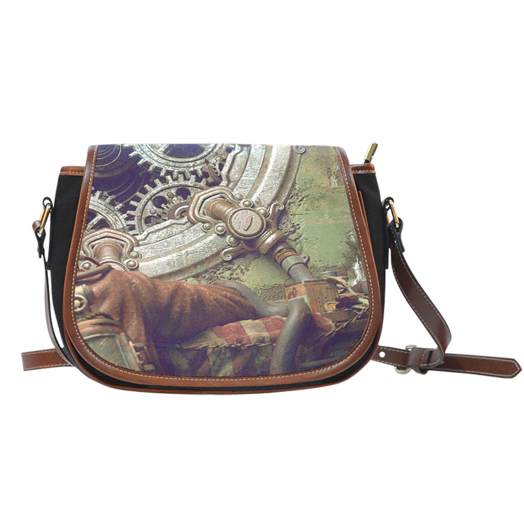 Steampunk Saddle Bag - Hello Moa