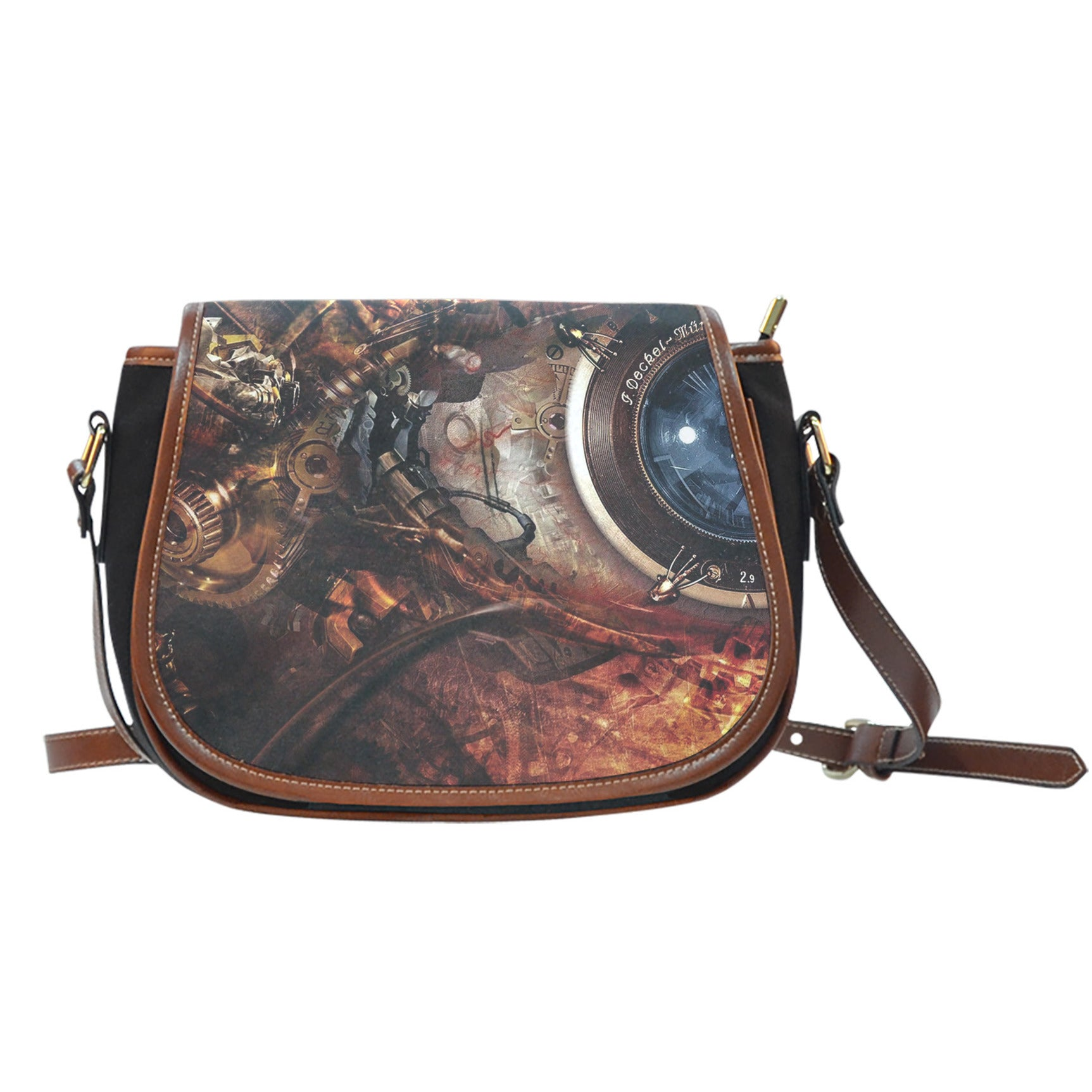 Steampunk II Saddle Bag