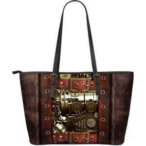 Steampunk IV Leather Tote