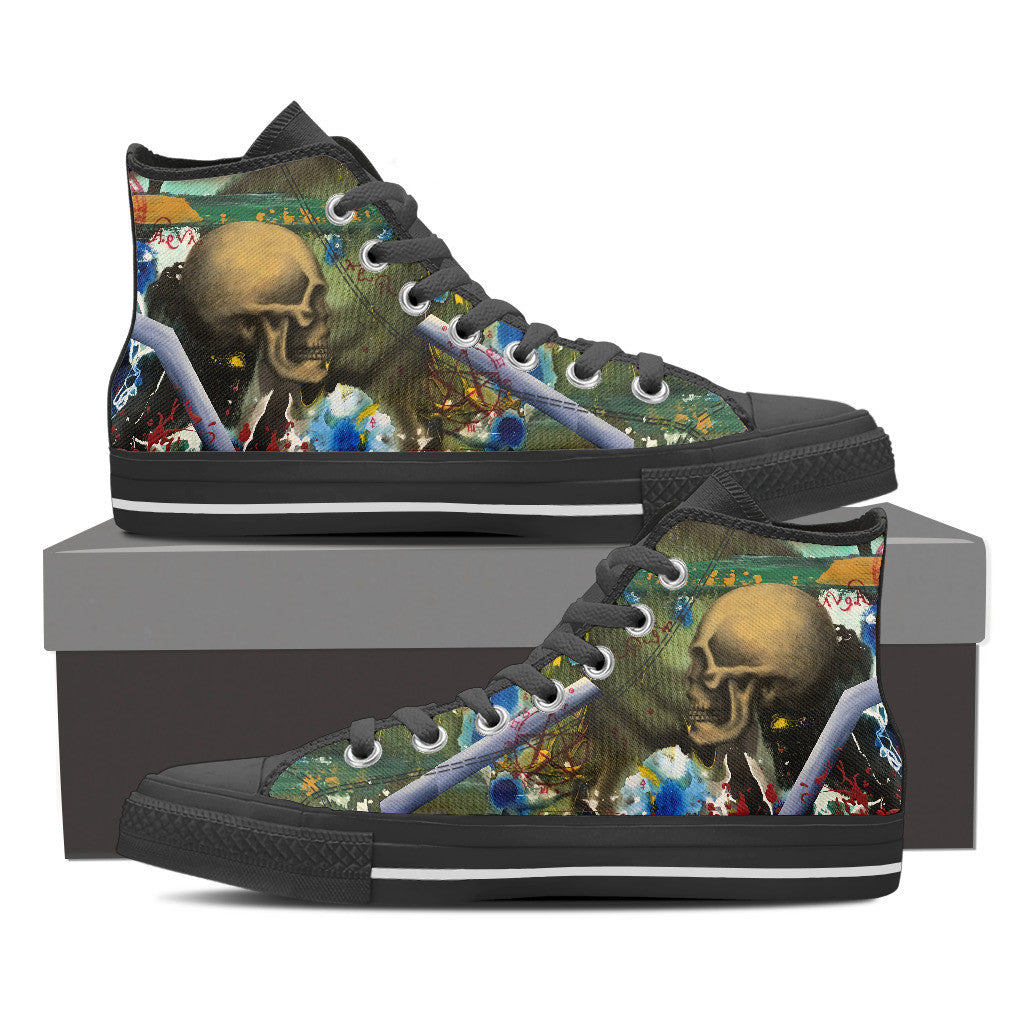 Skull Series I High Tops (Women's)