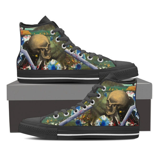 Skull Series I High Tops