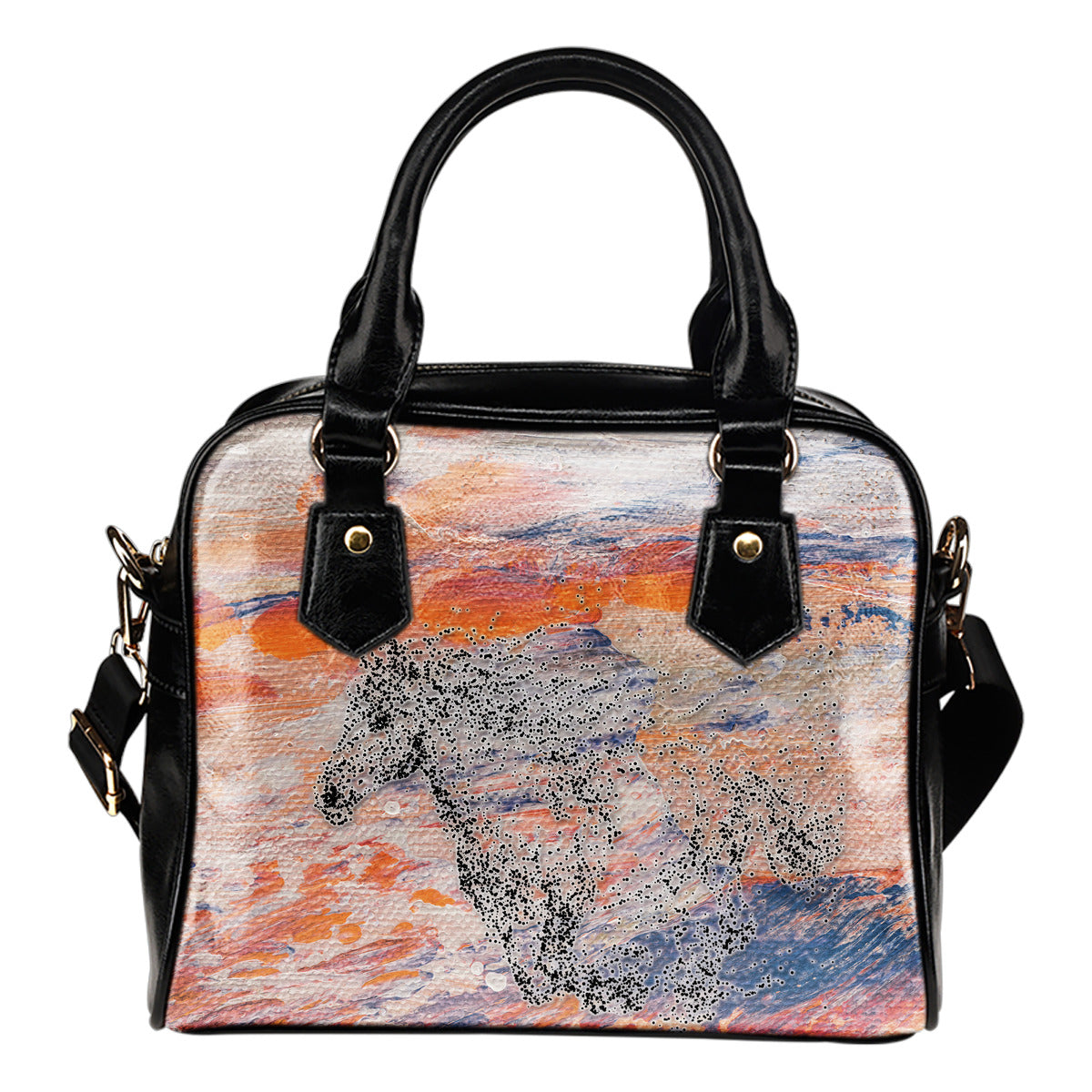 Horse Art Handbag - Hello Moa