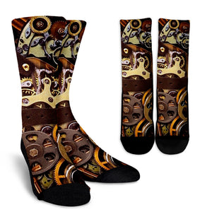 Steampunk Socks - Hello Moa