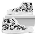 Skulls High Top Shoes - Hello Moa