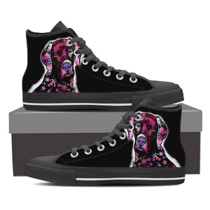 Lab Puppy Series II High Tops - Hello Moa