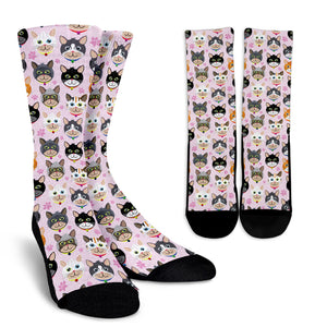 Happy Cat Socks
