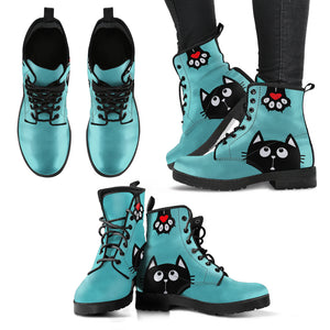 Paw Print Cat Boots (Women's)