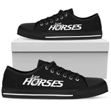 Express Love Horses Shoes Black (Women's)