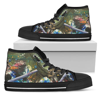 Skull Series I High Tops (Men's)