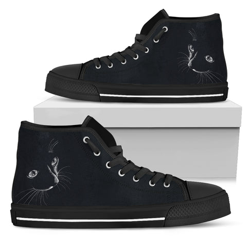 Express Black Cat I Hi Tops (Women's)