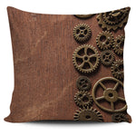 Steampunk Gears II Pillow Cover - Hello Moa