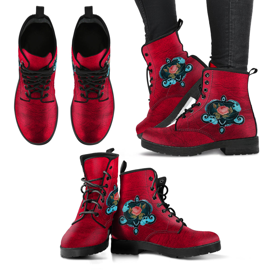 Express Steampunk Rose II Boots (Women's) - Hello Moa