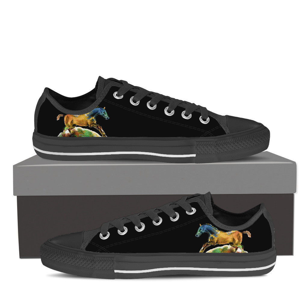 Horse Series II Low Tops - Hello Moa