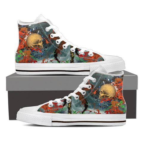 Skull Series VIII High Tops