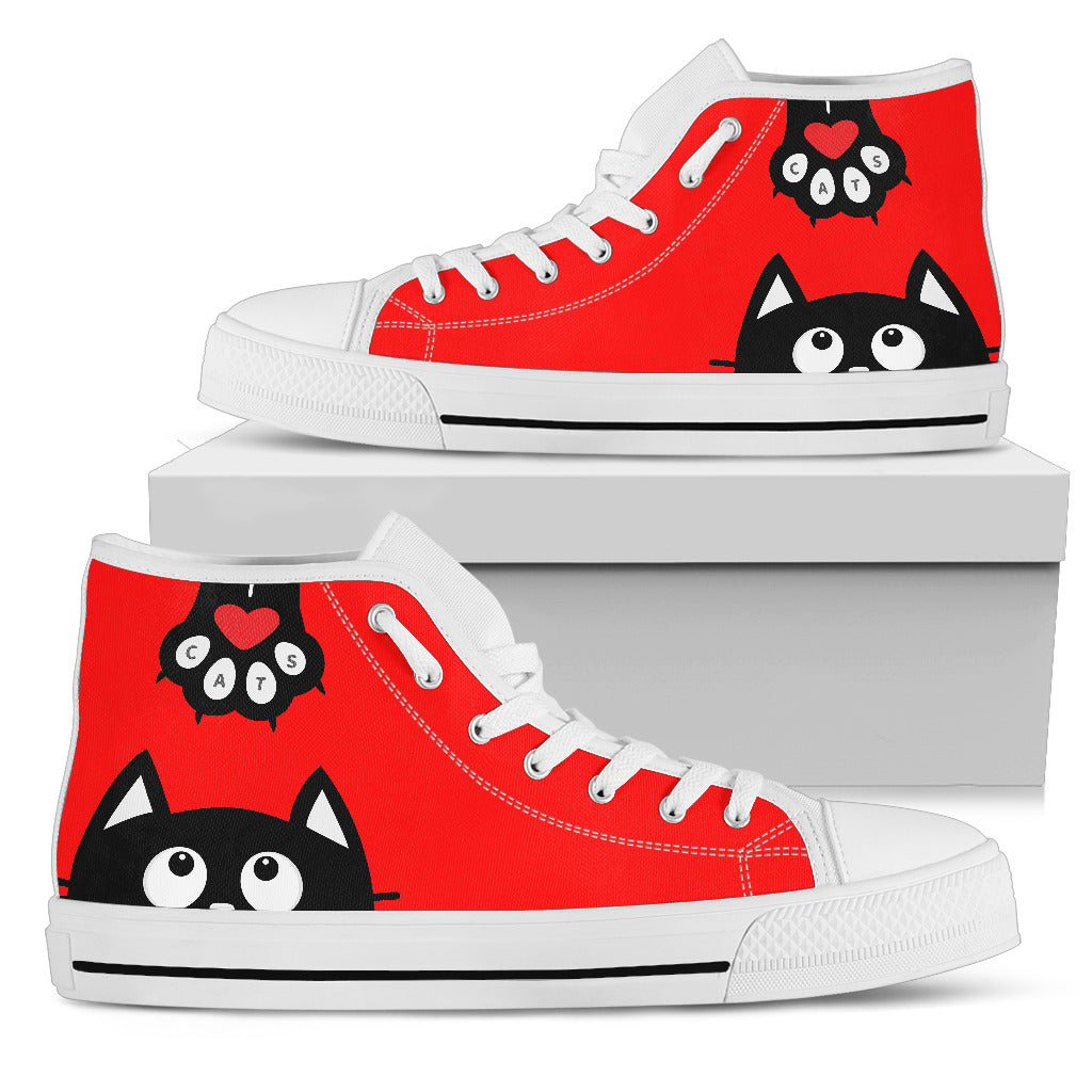 Cat Paw High Tops (Women's) - Hello Moa
