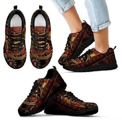 Steampunk Kids Sneakers